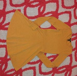 NWOT Ribbed Knit Forever21  Long sleeve Dress